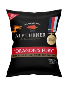 Black Country Snacks Alf Turner Dragon's Fury