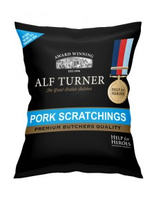 Black Country Snacks Alf Turner Pork Scratchings