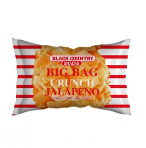 Black Country Snacks Big Bag Crunch Jalapeno