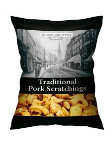 Black Country Snacks Traditional Pork Scratchings