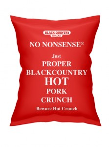 Black Country Snacks No Nonsense HOT Pork Crunch